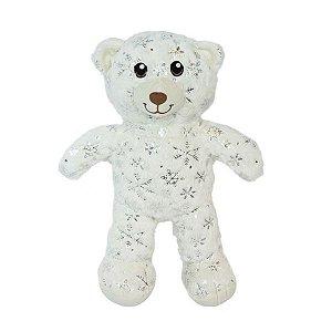 Urso Pelo Alto Branco Flocos de Neve