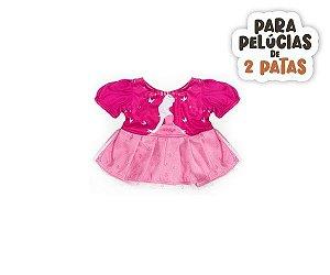 Vestido Princesa Bailarina Malha