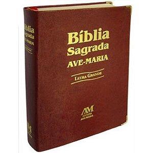 BIBLIA LETRA GRANDE MARROM