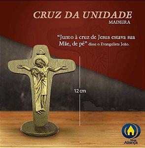CRUCIFIXO MAD MESA DA UNIDADE 12CM OV
