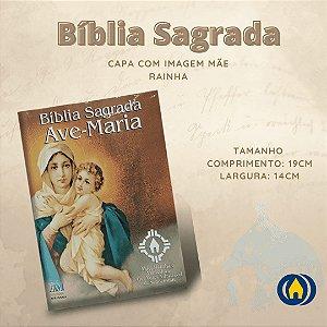 BIBLIA SAGRADA PASTORAL C/ CAPA MÃE RAINHA