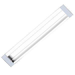 Puxador Concha IL 155 Alumínio Branco 96mm