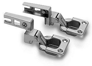 Kit Dobradiça MN57 para Porta Basculante 95° com 2 peças