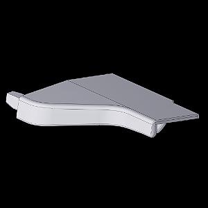 Ponteira 12 Lateral Direita e Esquerda Arezzo 18mm Anodizado (Par)