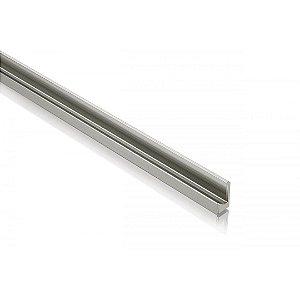 Perfil Puxador de Alumínio Cava Anodizado Fosco 18 mm c/ 3m