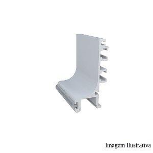 Perfil Puxador de Alumínio RM 249 Anodizado Supra Natural 25mm c/3m