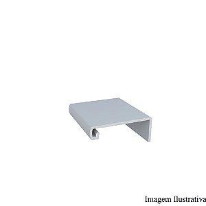 Perfil Puxador de Alumínio RM 183 Infinite Supra Titânio 4mm c/3m