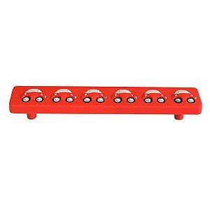 Puxador Alça IL5500 Vermelho 128mm