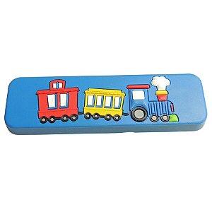 Puxador Alça IL5535 Trem Azul 128mm