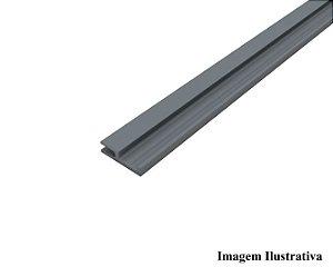Perfil Guia de PVC Multi Preto c/ 3m