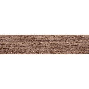 Fita de Borda PVC Nogueira Cadiz Prisma 22x0,45mm c/ 20m