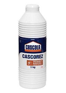 Cola Branca Cascorez Secagem Rápida 1kg