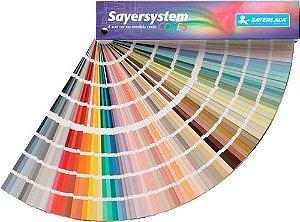 Cartela de amostra 720 cores