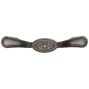 Puxador Alça Estilo Colonial 113 Zamac Antique 128mm