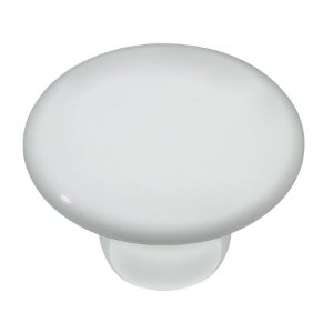 Puxador Ponto IL7038 Branco Ceramica 32mm