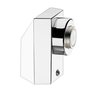 Prendedor Magnetico para Portas de Madeira ou Alumínio CPM 400 Zamac Cromado 37mm