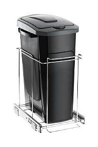 Lixeira Deslizante Slim  - 15 litros