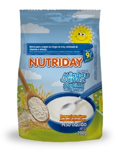 MINGAU DE ARROZ 200G – NUTRIDAY