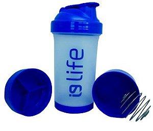 Shakeira Compartimentada Azul