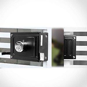 Fechadura Sobrepor -  0332B - Com 6 fechaduras