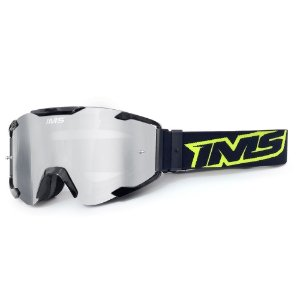 Óculos Off-Road IMS Army lente espelhada antiembaçante com pino tear off (Estojo de Brinde) - Várias Cores