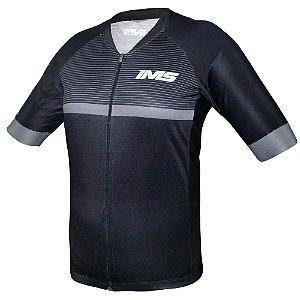 Camisa Bike Ciclista Mtb - IMS Ellite Preta