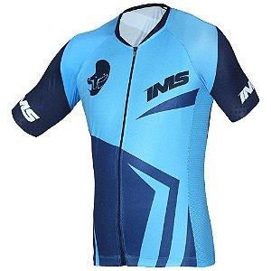 Camisa Bike Ciclista Mtb - IMS Ellite Azul