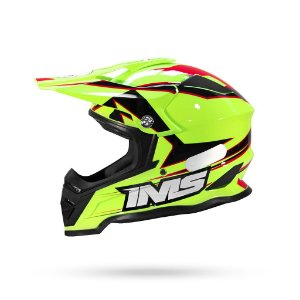 Capacete Motocross/Trilha IMS Army Neon