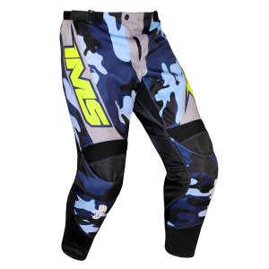 Calça Off-Road IMS Army Camo Azul