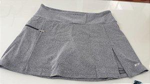 Shorts saia poliamida UV 50 com bolso interno mescla