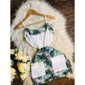 Conjunto Estampado Crepe Bubble