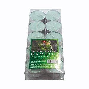 Jogo de Velas Aromatizadas Bamboo com 10 Unidades