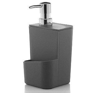 Dispenser para Detergente 650ml Cinza da OU