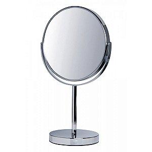 Espelho de Mesa Dupla Face Aumento x5 UnyHome