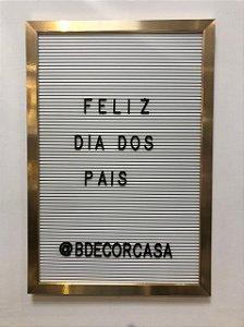 Quadro Decorativo Letter Board