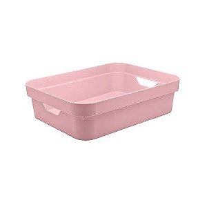 Caixa Organizadora Cube P Baixa Rosa da OU