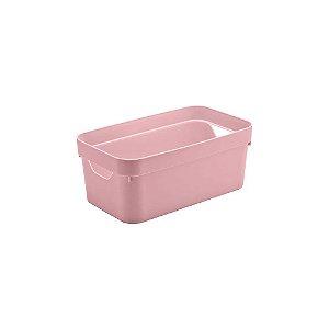 Caixa Organizadora Cube P Rosa da Ou