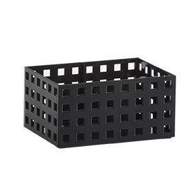 Organizador Empilhavel Quadratta 16x11,5x8cm Preto