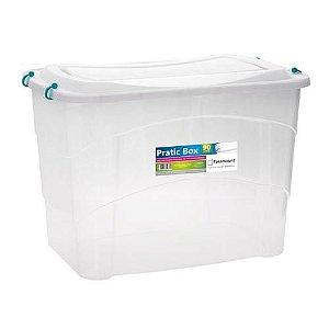Caixa Organizadora Pratic Box 90 Litros 66x45x44cm