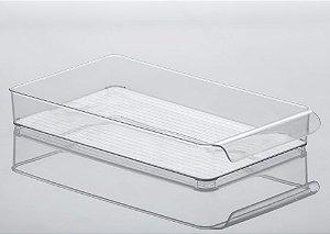 Organizador Gaveta Diamond 37,5x21x5,5cm Cristal