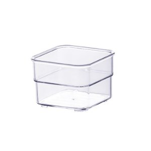 Organizador Modular Diamond 7,5x7,5x5,2cm Cristal