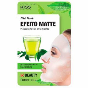 Máscara Facial Kiss Ny Chá Verde Cod.KFMS05SBR