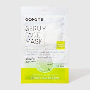 Serum Face Mask - Máscara Facial com Ácido Salicílico Oceane