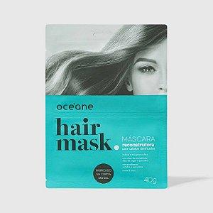 Hair Mask - Máscara Reconstrutora Cabelos Danificados Oceane 40g