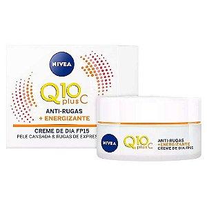 Creme Nivea 50g Dia Q10 + Vitamina C
