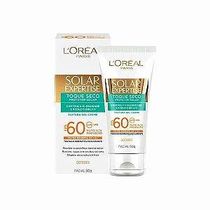 Protetor Solar L'oreal Expertise Facial FPS60 Toque Seco 50g