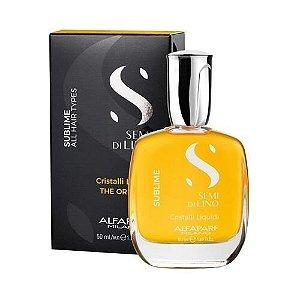 Óleo Semi Di Lino Alfaparf Sublime Cristalli Liquidi 15ml