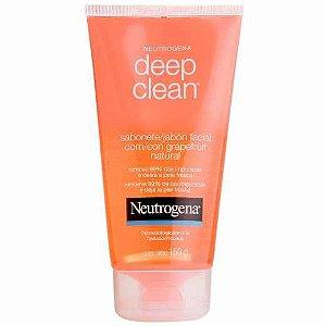 Sabonete Líquido Facial Neutrogena Deep Clean 150g