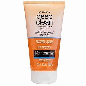 Gel de Limpeza Facial Neutrogena Deep Clean 150g