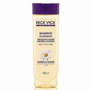 Shampoo Nick&Vick 300ml Clareador